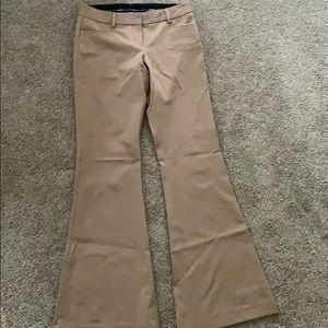 Size 0R Express Bootcut tan dress pants